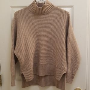Loft Camel Turtleneck